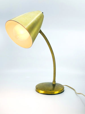 Vintage Bendable Brass Lamp
