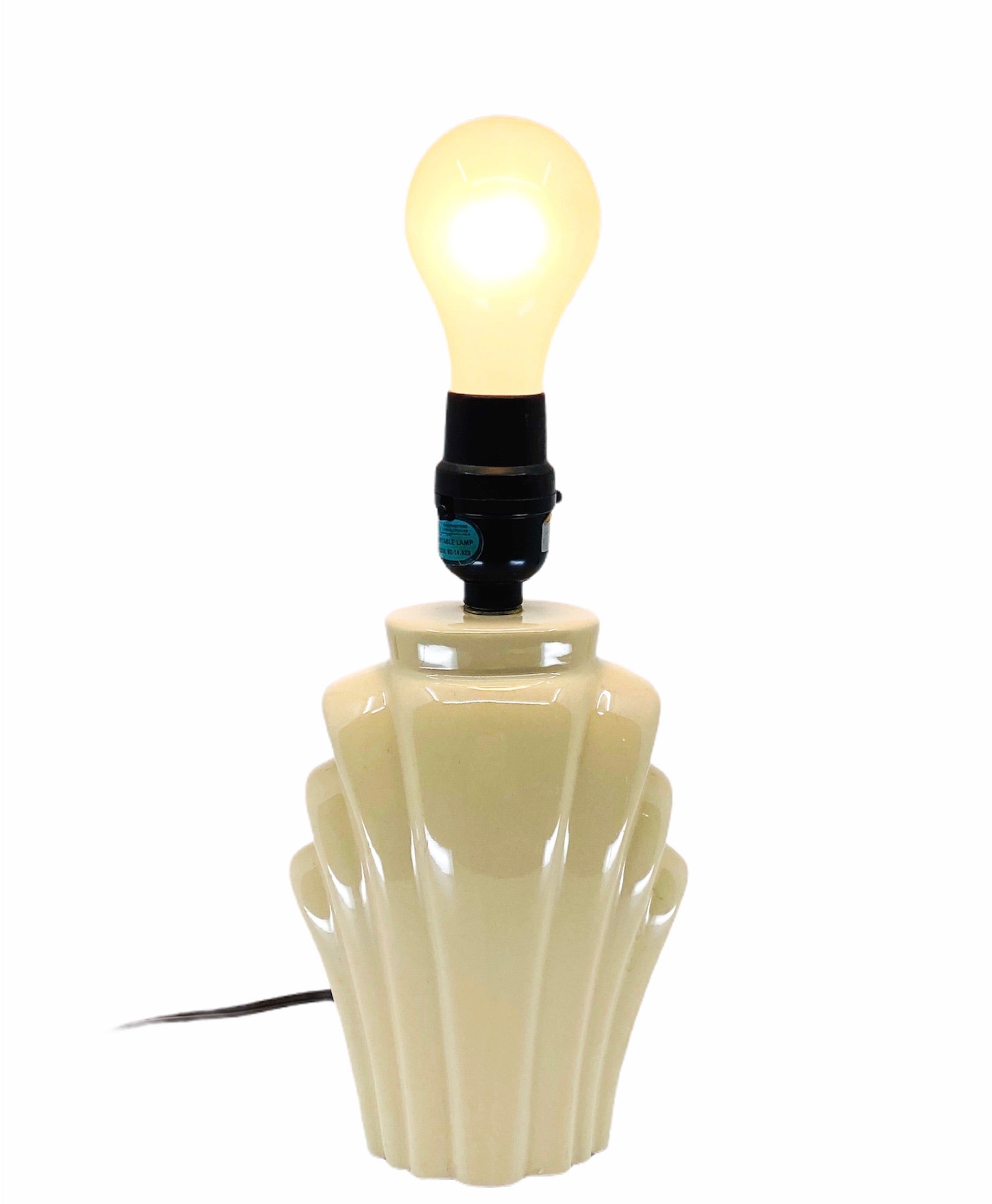 Mini Art Deco Shaped Table Lamp