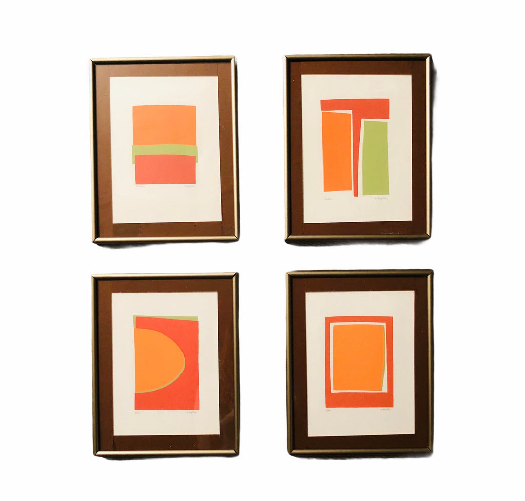 Series of 4, Signed Prints- One, Soho, Space, Horizons