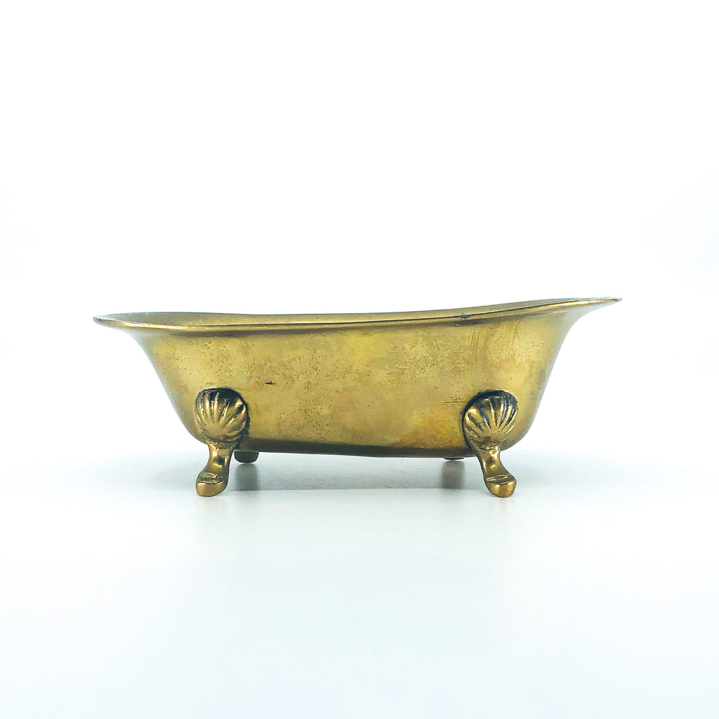 Vintage Brass Bathtub