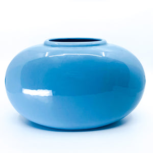 Royal Haeger Pale Blue Oval Vase
