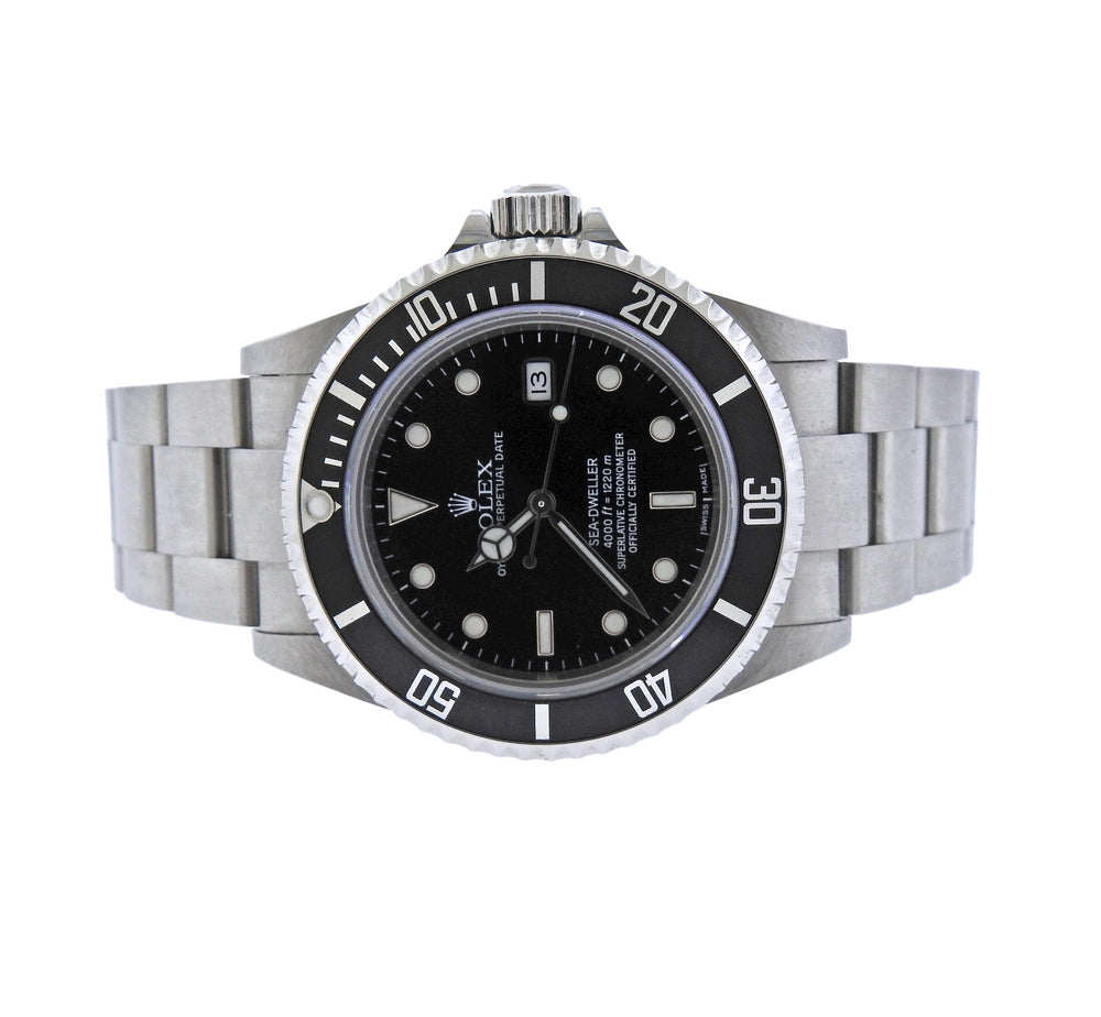 Rolex Sea Dweller Stainless Steel Watch 16600 - UPONPARK