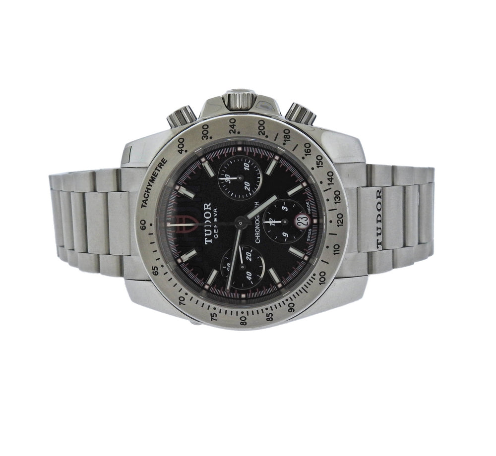 Tudor Sport Chronograph Stainless Steel Watch ref. 20300 - UPONPARK