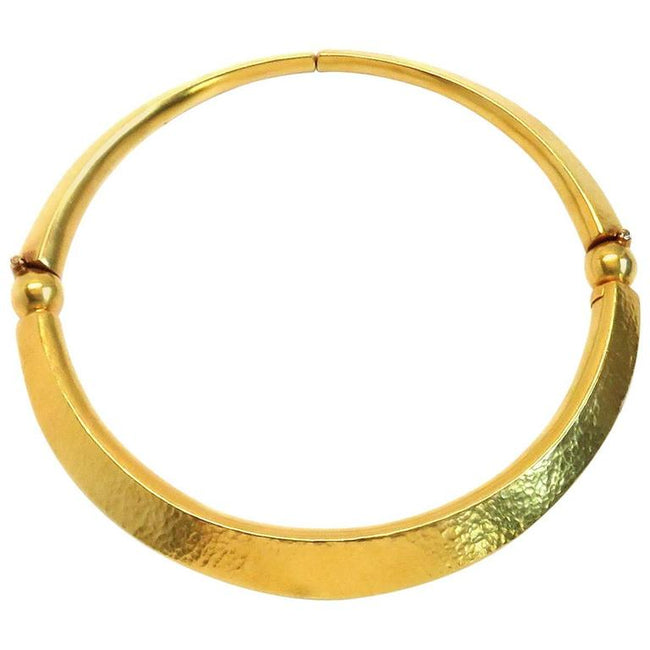 Ilias Lalaounis Gold Collar Necklace - UPONPARK