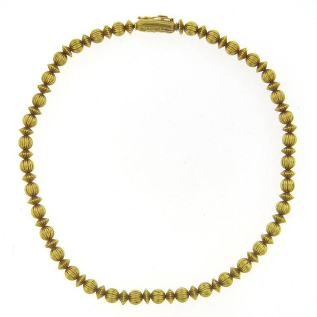 Ilias Lalaounis Greece Gold Necklace - UPONPARK
