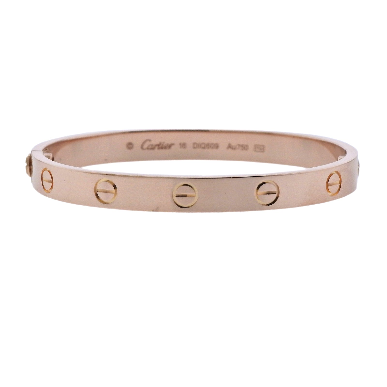 cartier gold bangles popular rose uponpark products love bangle bracelet