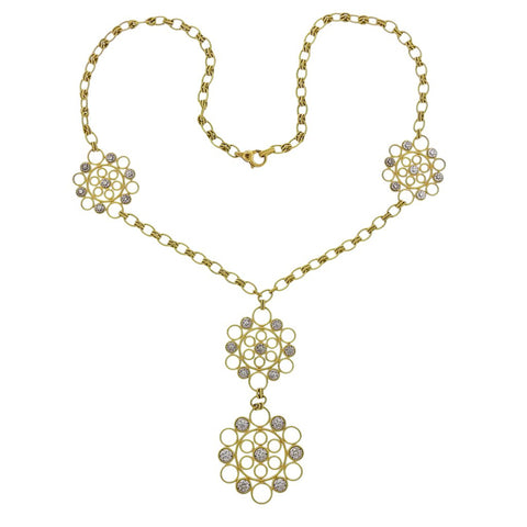 Classic Ilias Lalaounis Greece Gold Necklace
