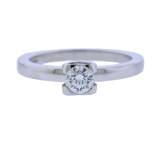 Chopard 0.32ct Diamond Platinum Engagement Ring - UPONPARK