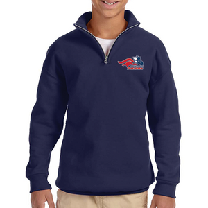 Youth Quarter Zip Sweatshirt