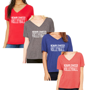 NCS Volleyball Bella V-Neck