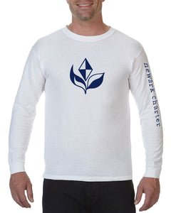 Comfort Color Long Sleeve Tee Flame Design