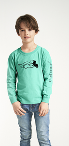 Comfort Color Long Sleeve Tee Patriot Design