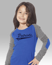 Preppy Patch Tee (Youth Girls and Adult Ladies)