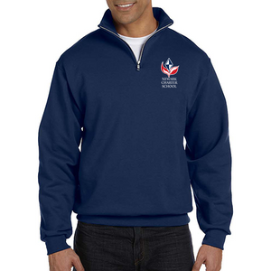 Quarter Zip Sweatshirt Adult