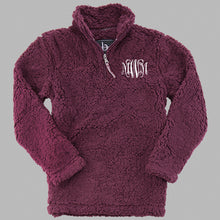 Monogrammed Sherpa Youth and Adult