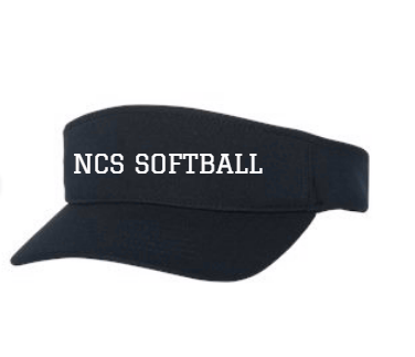 NCS Softball 2020 Visor