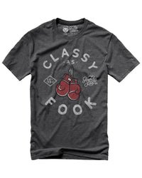 CLASSY BOXING - HEATHER DARK GRAY