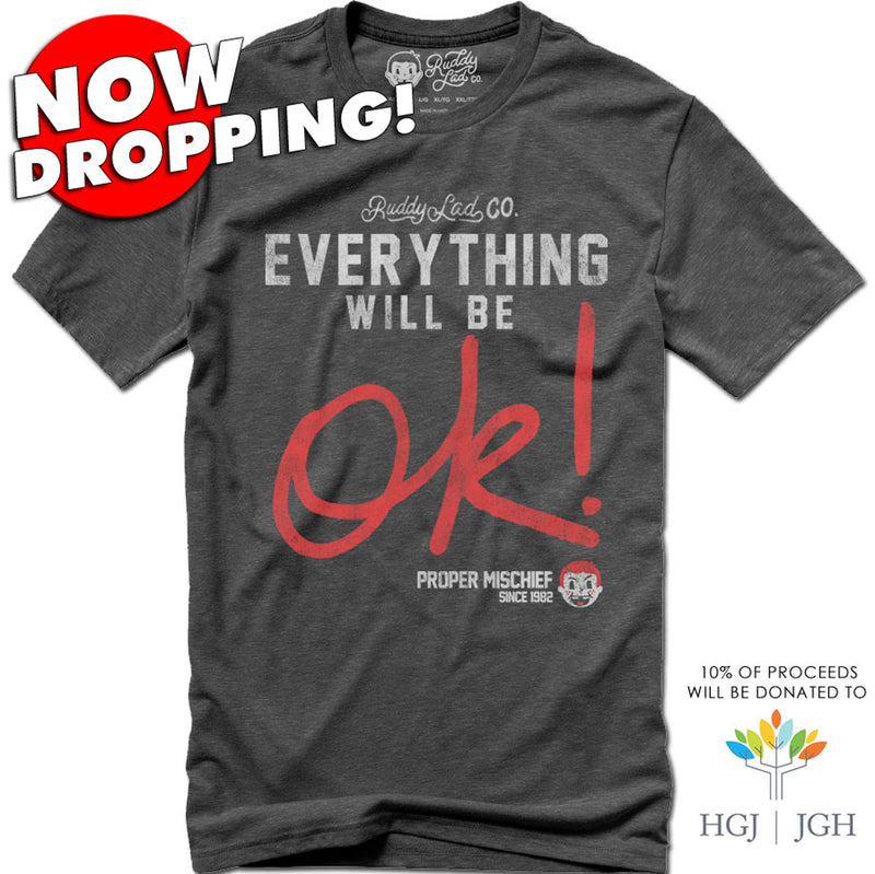 NOW DROPPING!  EVERYTHING WILL BE OK! - GRAY SMOKE