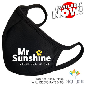 NOW DROPPING!  MR. SUNSHINE LOGO MASK