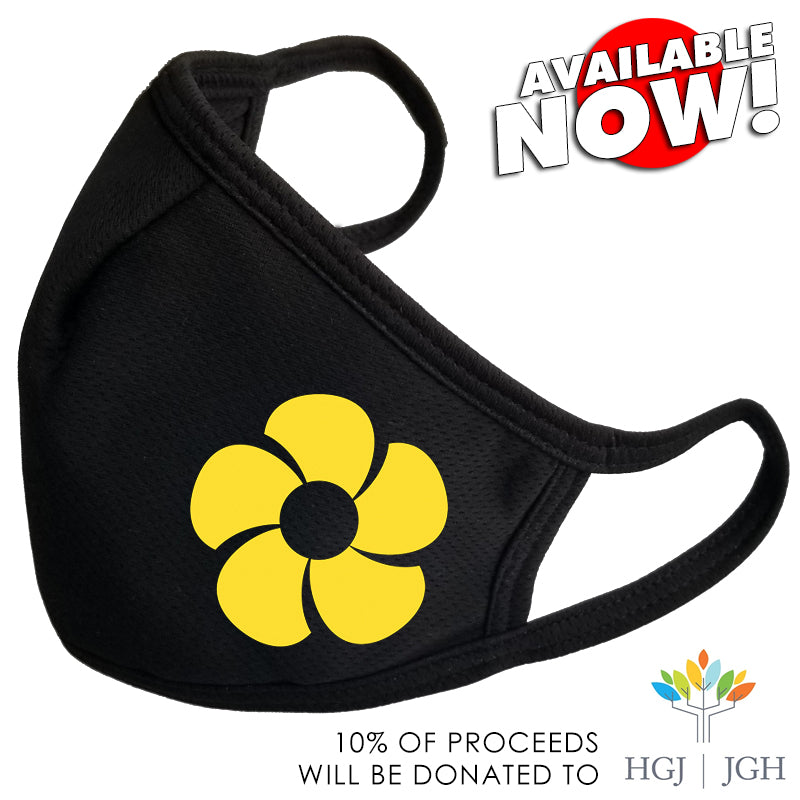 NOW DROPPING!  MR. SUNSHINE FLOWER MASK