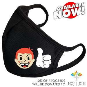 NOW DROPPING! RUDDY LAD THUMBS UP MASK