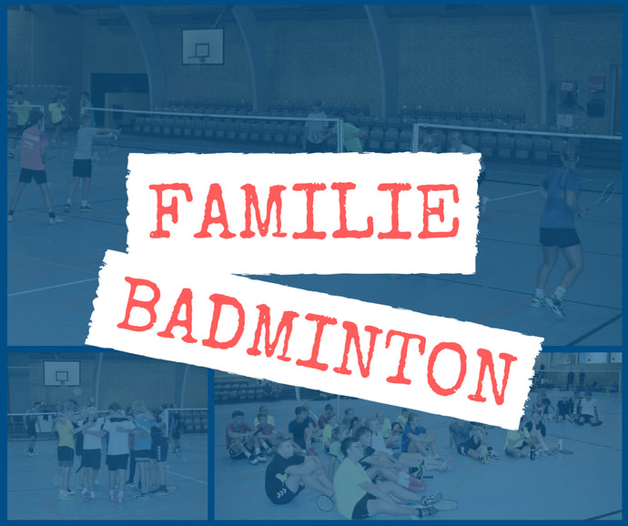 NYHED - Familiebadminton