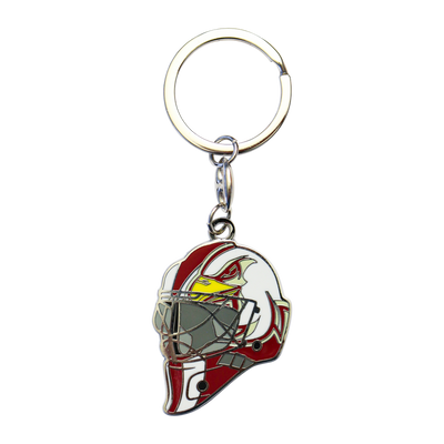 "Key Chain ""Goalie Helmet"""