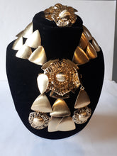 Large African jewelry set