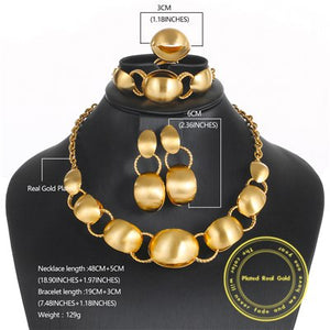 OUMEILY Jewelry Sets Vintage African Beads Jewelry Set For Women Ethiopian Bridal Nigerian Wedding Costume Statement Jewelry Set