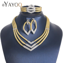 AYAYOO Jewelry Sets Vintage African Beads Jewelry Set Trendy Rope Ethiopian Bridal Costume Women Wedding Indian Jewelry Set