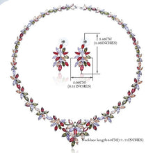 OUMEILY Jewelry Sets Bridal Jewellery Sets For Women Zircon Necklaces African Beads Jewelry Set Nigerian Wedding Jewelry Sets