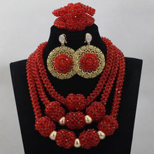 Nigerian Green Bead Balls Wedding Jewelry Set Crystal Party Indian Bridal Gift Jewellery Set Hot 2017 Free Shipping WD679