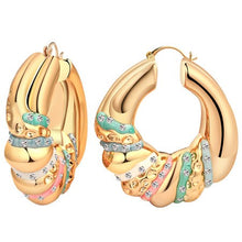 Hoop Earrings Vintage Bohemian Jewelry For Women Girl Mix Silver Color Gift Classic Style Ethnic Big Trendy Fashion Accessories