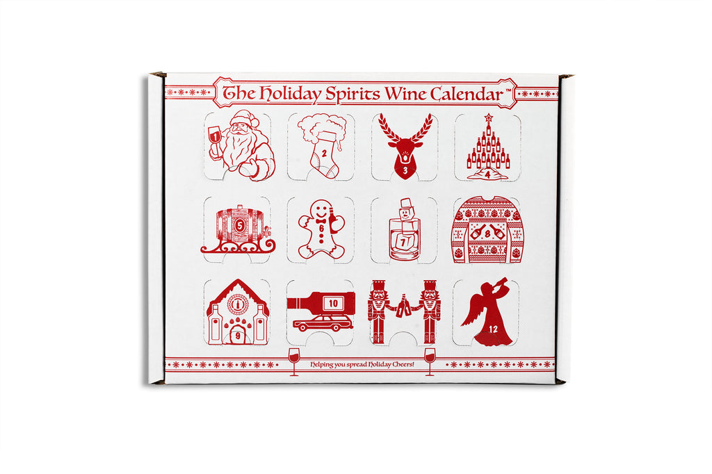 Wine Advent Calendar - Holiday Spirits Calendars