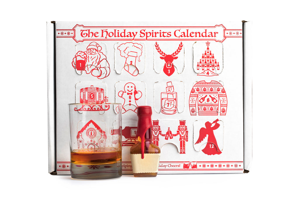 Spirits Calendar - Whiskey, Bourbon, Gin, Tequila... - The Holiday Spirits Calendar