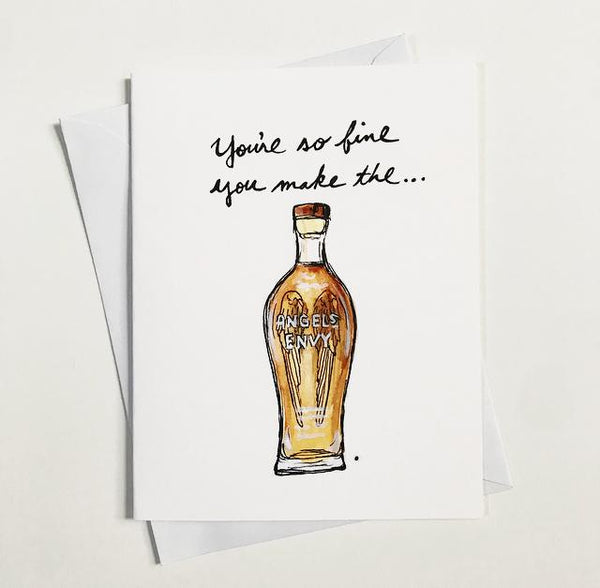 You're so fine you make the Angels Envy - The Holiday Spirits Calendar