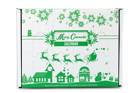 Merry Cannabis Calendar - The Holiday Spirits Calendar