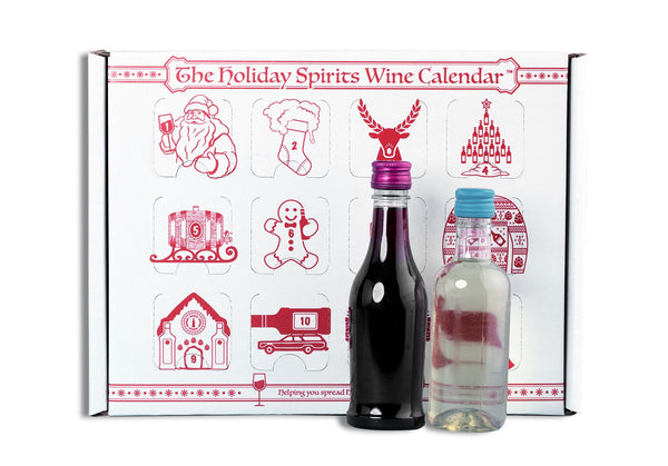 Wine Advent Calendar - The Holiday Spirits Calendar