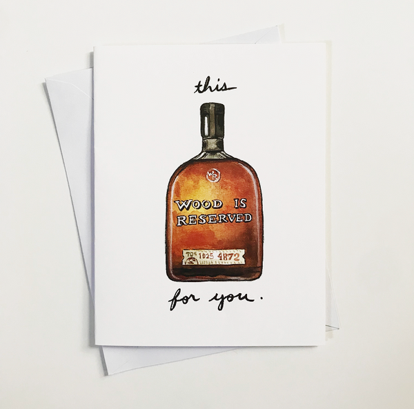 This Wood is Reserved for you. - Holiday Spirits Calendars