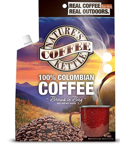 100% Colombia Coffee Kettle