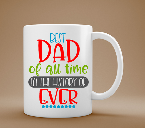 Best Dad Mug, Father's Day Mug, Dad Gift