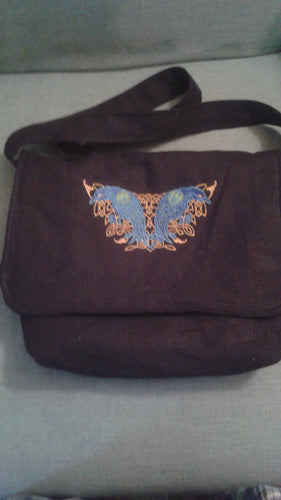 Celtic Ravens Messenger Bag Haversack