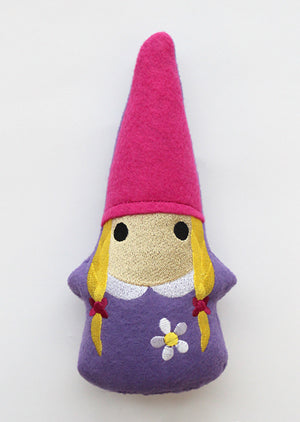 Stuffed Lady Gnome