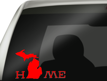 Michigan Home Car Decal, Michigan Decal, Michigan State Decal