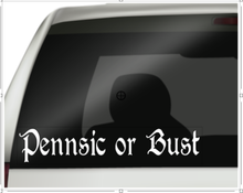 Pennsic War Wagon Decals, SCA Decals, Pennsic or Bust
