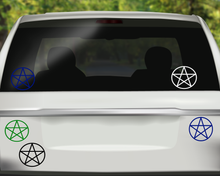 Pentacle Decal, Wiccan Decal, Witch Decal