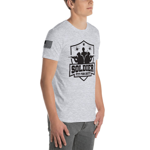 SOLDIER: FIT FOR DUTY Short-Sleeve Unisex T-Shirt *LIGHT (NAVY: LIMITED ED.)