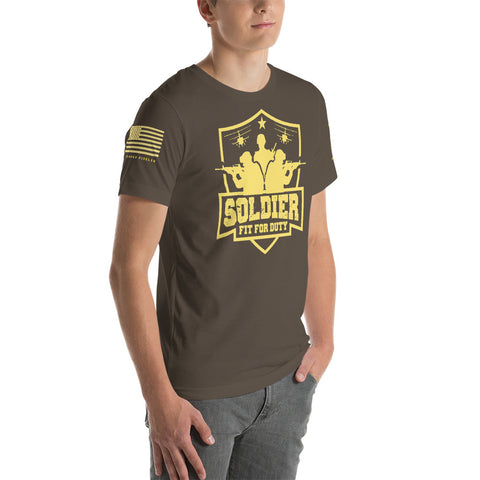 SOLDIER: FIT FOR DUTY Short-Sleeve Unisex T-Shirt (USMC: LIMITED ED.)