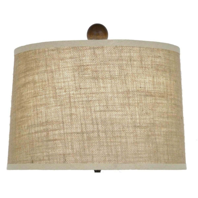 Decorative Table Lamps - Adele Dark Brown Table Lamp