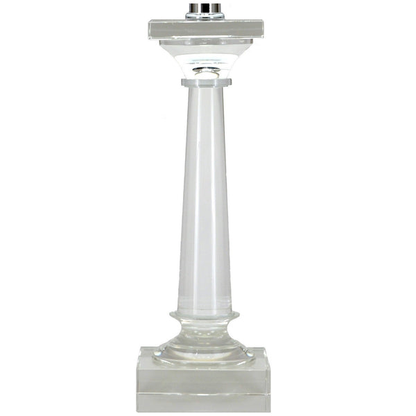 Lillian Home Standing Lamp | Mason Solid Crystal Table Lamp